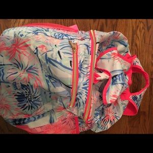 Lilly Pulitzer cooler backpack